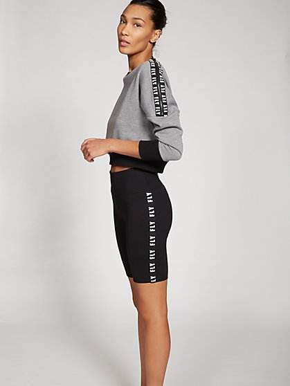 Gabrielle Union Collection - Black Bike Short - New York & Company