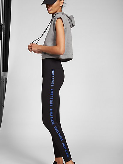 Gabrielle Union Collection - Black 'First Class' Legging - New York & Company