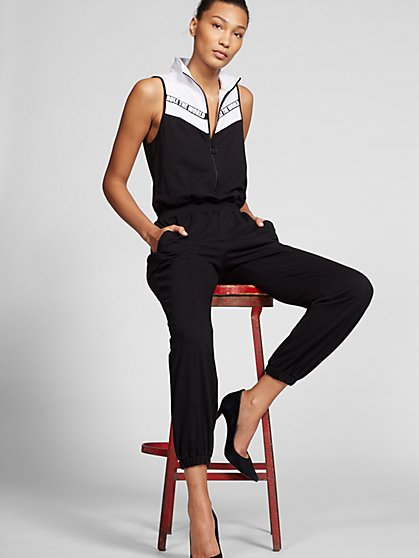 Gabrielle Union Collection - Black & White 'Rule the World' Jumpsuit - New York & Company