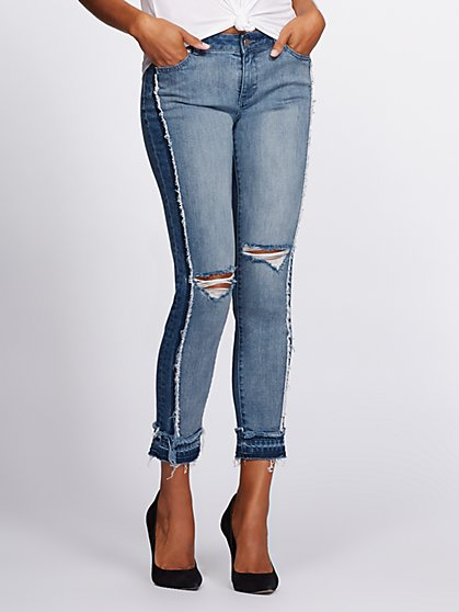Gabrielle Union Collection - Destroyed Boyfriend Jeans - New York & Company