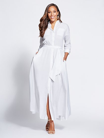 Gabrielle Union Collection - Maxi Shirtdress - New York & Company