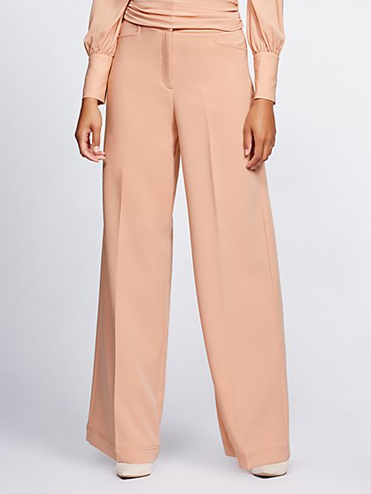 Gabrielle Union Collection - Tall Belted Palazzo Pant - New York & Company