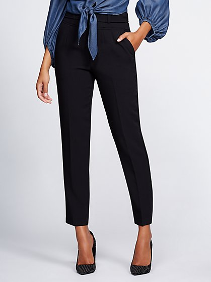 Gabrielle Union Collection - Tall Black Corset Pant - New York & Company