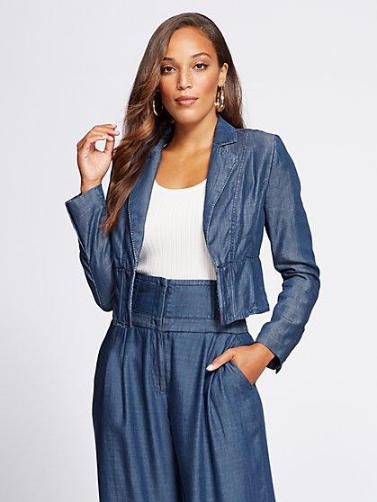 Gabrielle Union Collection - Tall Corset Jacket - New York & Company