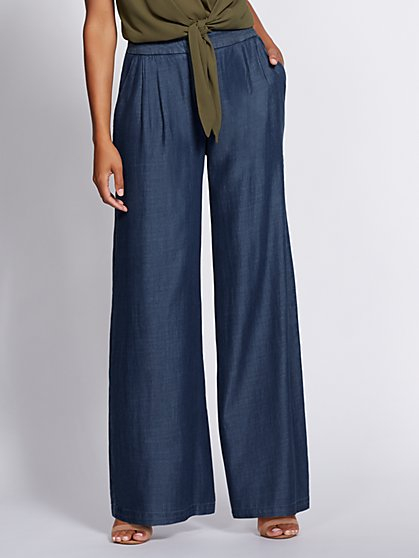 Gabrielle Union Collection - Tall Wide-Leg Jean - New York & Company