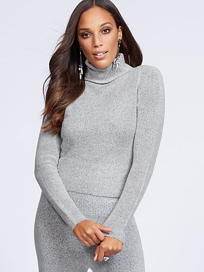 Gabrielle Union Collection - Turtleneck Sweater - New York & Company