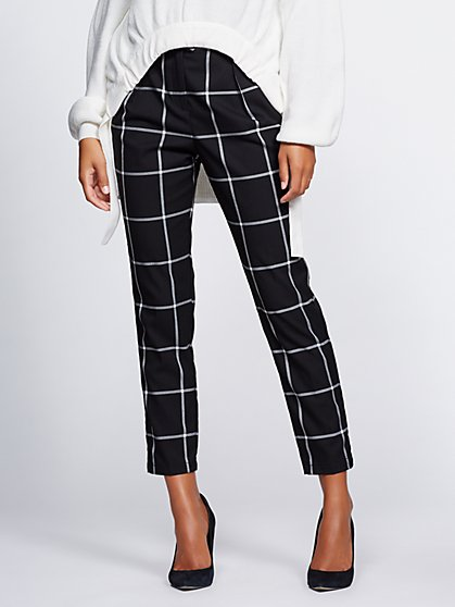Gabrielle Union Collection - Windowpane Pant - New York & Company