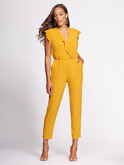 Gabrielle Union Collection - Wrap Jumpsuit - New York & Company