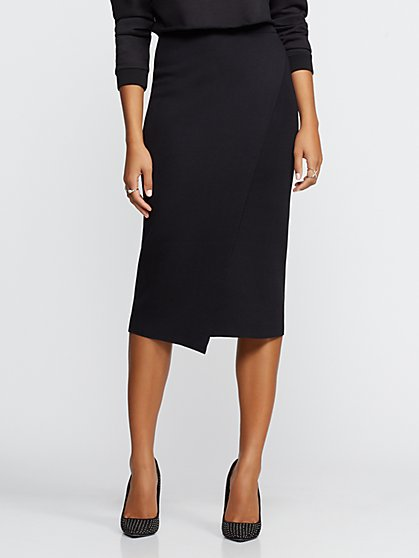 Gabrielle Union Collection - Wrap Sweater Skirt - New York & Company