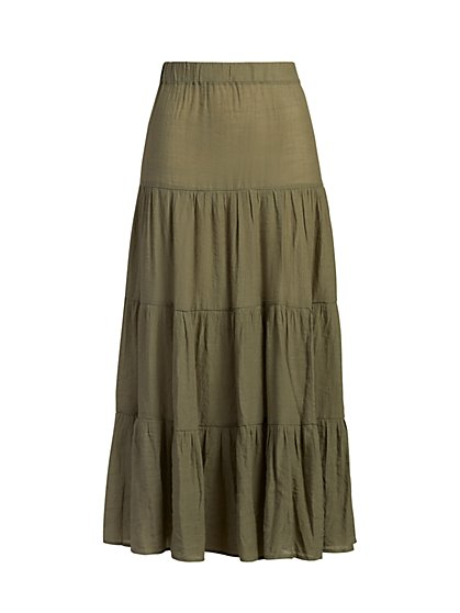Gauze Maxi Skirt - New York & Company