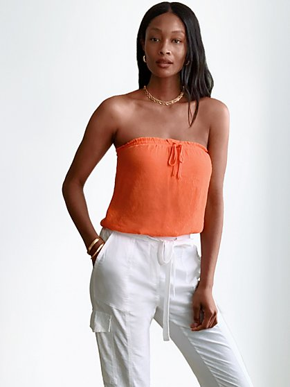 Gauze Tube Top - New York & Company