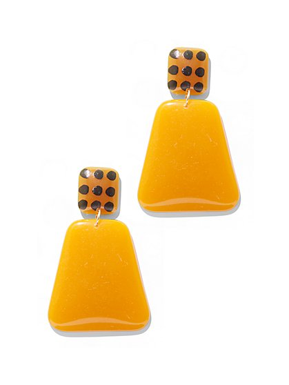 Geometric Double-Drop Earring - New York & Company