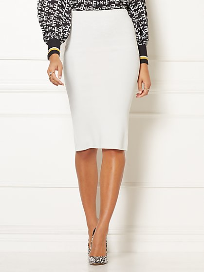 Georgine Sweater Skirt - Eva Mendes Party Collection - New York & Company