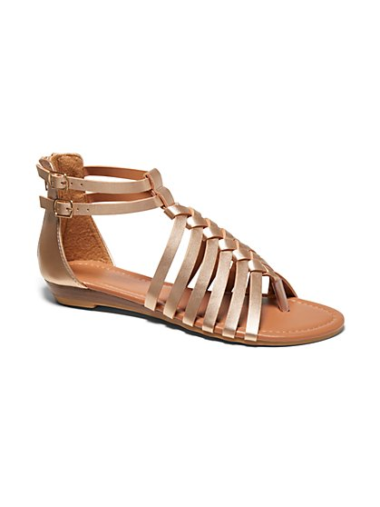 Gladiator Thong Sandal - New York & Company