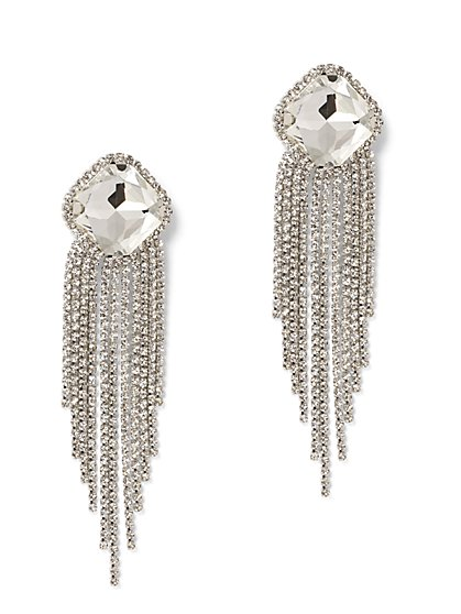 Glittering Statement Drop Earring - New York & Company