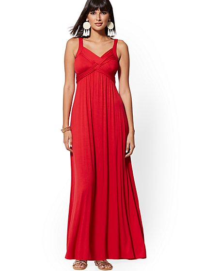 Goddess Maxi Dress - Soho Street - New York & Company