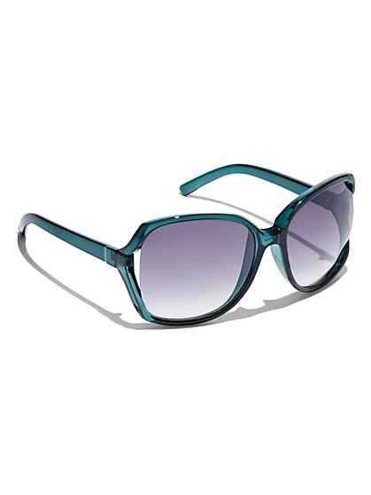 Gradient Oversized Sunglasses - New York & Company