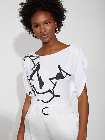 Graphic Tee - Gabrielle Union Collection - New York & Company