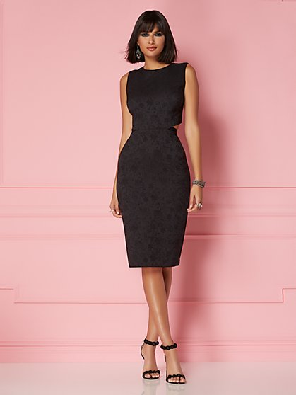 ba78463af0 Graziela Cutout Dress - Eva Mendes Party Collection - New York   Company ...