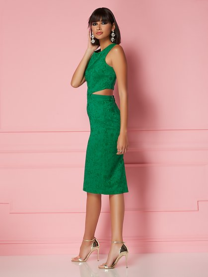 Graziela Cutout Dress - Eva Mendes Party Collection - New York & Company