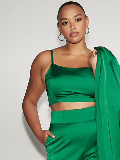 Green Bustier Top - Gabrielle Union Collection - New York & Company