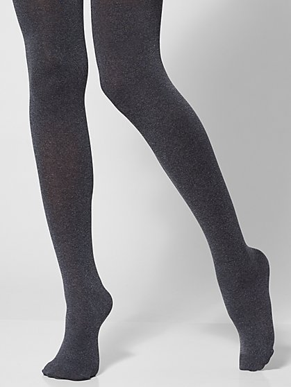 Grey Control-Top City Tights - New York & Company