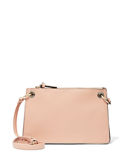Grommet Cross-Body Bag - New York & Company ...