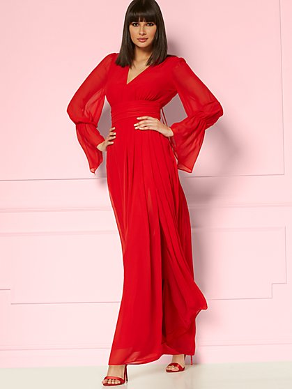 Gwendolyn Maxi Dress - Eva Mendes Party Collection - New York & Company