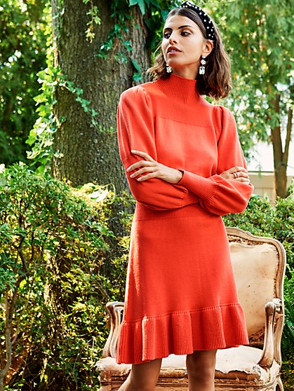 Halley Sweater Dress - New York & Company