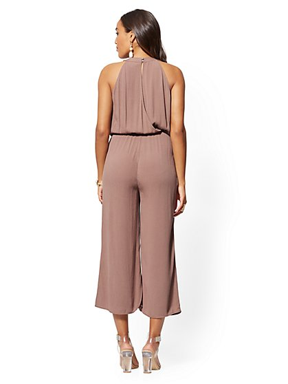faa7e3acd060 ... Halter Culotte Jumpsuit - New York & Company ...