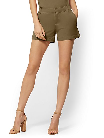 Hampton Twill 4-Inch Short - New York & Company