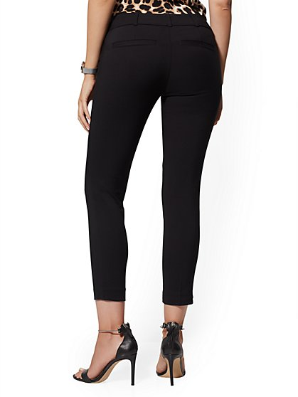 54680585a574ba ... Hardware-Accent Ankle Pant - All-Season Stretch - 7th Avenue - New York