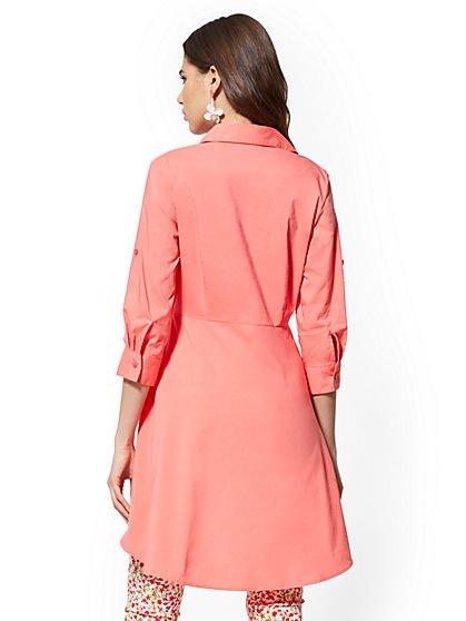 d9fa70dbc ... Hi-Lo Poplin Tunic Shirt - New York   Company