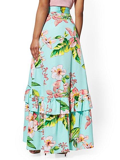 ff9241018e ... Hi-Lo Ruffle Skirt - New York & Company