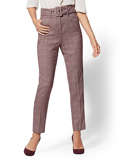 High-Waist Ankle Pant - 7th Avenue - New York & Company
