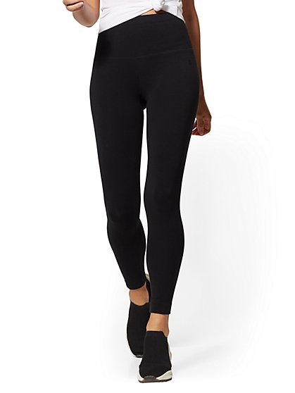 High-Waist Black Legging - New York & Company