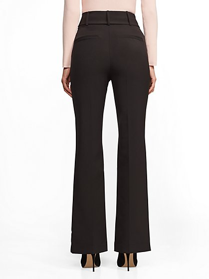 699377e7af ... High-Waist Bootcut Pant - Black - 7th Avenue - New York   Company