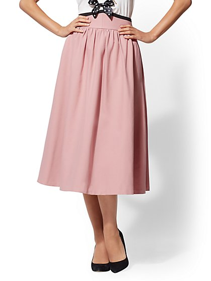 High-Waist Full Skirt - New York & Company