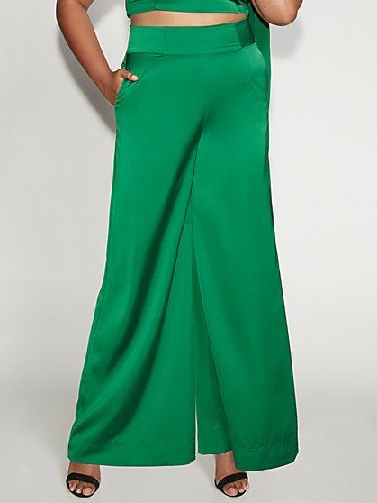 High-Waist Palazzo Pant -Gabrielle Union Collection - New York & Company