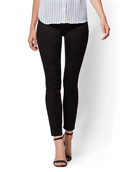 High-Waist Pull-On Legging - New York & Company