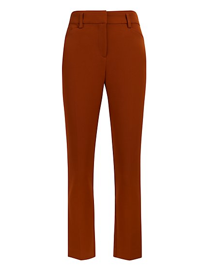 High-Waisted Ankle Pant - Modern Fit - All-Season Stretch - 7th Avenue - New York & Company