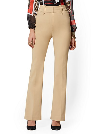 High-Waisted Bootcut Pant - All Season Stretch - 7th Avenue - New York & Company