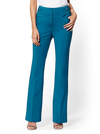 High-Waisted Bootcut Pant - All-Season Stretch - 7th Avenue - New York & Company