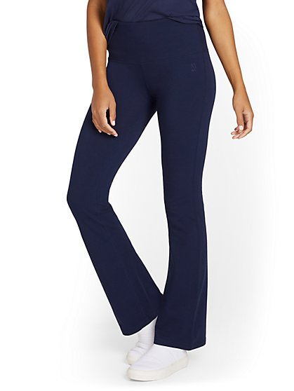 High-Waisted Bootcut Yoga Pant - New York & Company