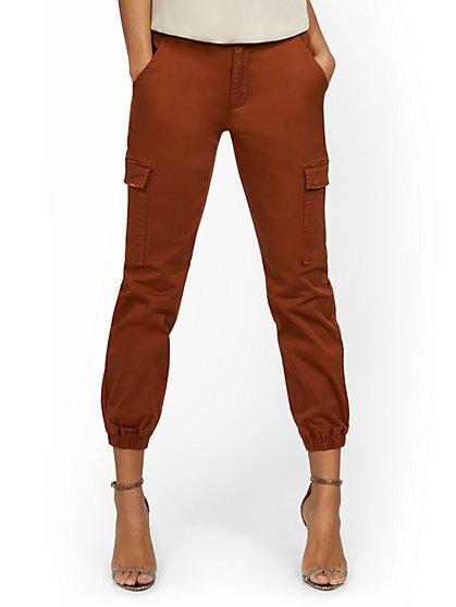 High-Waisted Cargo Jogger Pant - New York & Company