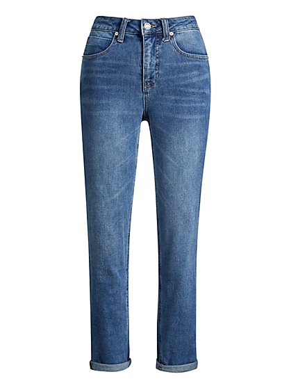 High-Waisted Classic Jeans - New York & Company
