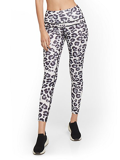 High-Waisted Leopard-Print Legging - New York & Company