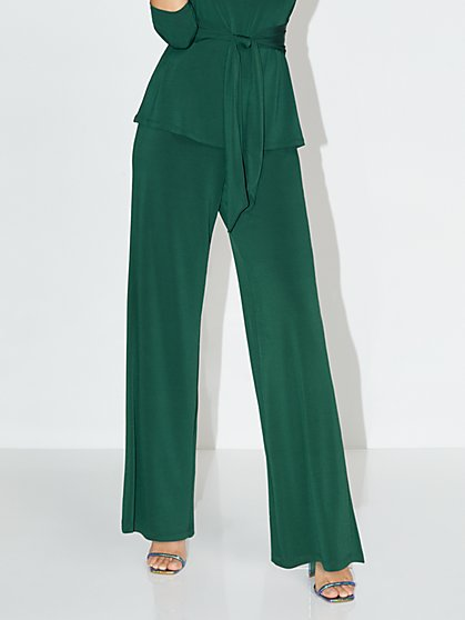 High-Waisted Palazzo Pant - NY&C Style System - New York & Company