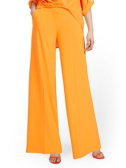 Superflex Womens Petite Wide Leg Pant New York /& Co