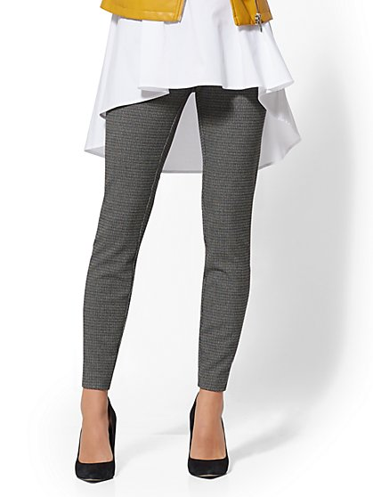 High-Waisted Slim Leg Pant - 7th Avenue - New York & Company